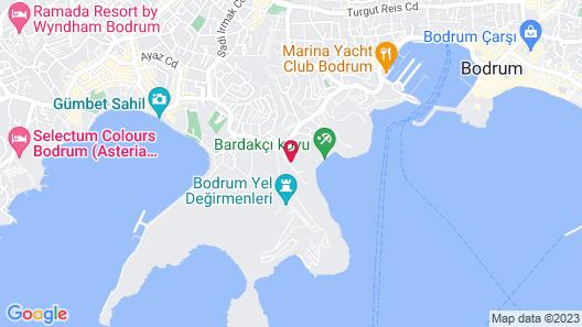 Salmakis Resort & Spa Map