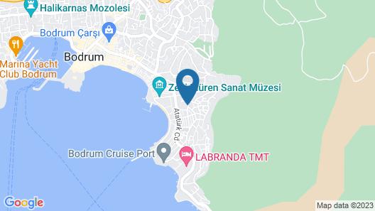 Hotel Manastir and Suites Map