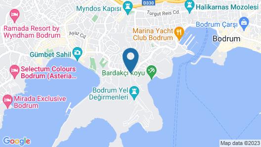 Degirmenburnu Residence Map