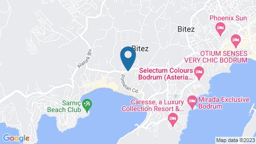 Bitez Garden Life Hotel - All Inclusive Map