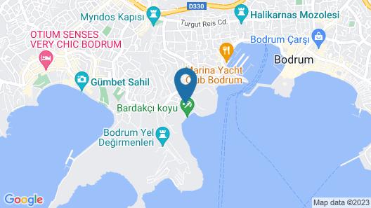 Azka Hotel Map