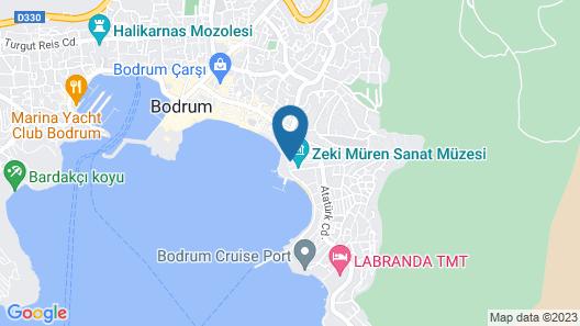 MERHABA PANSIYON Map