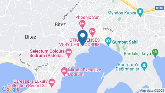 Royal Asarlik Beach Hotel & Spa - All Inclusive Map