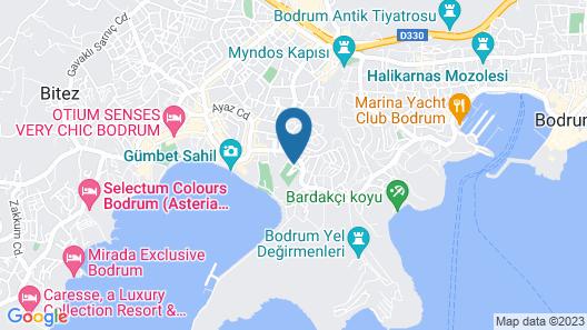Bodrum Beach Resort Map