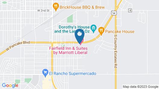 Fairfield Inn & Suites by Marriott Liberal Map