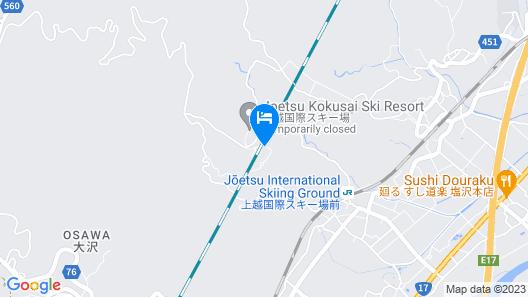 Hotel Green Plaza Joetsu Map