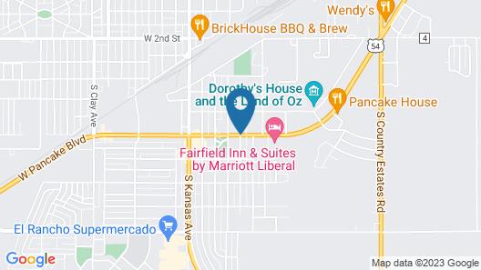 Days Inn by Wyndham Liberal KS Map