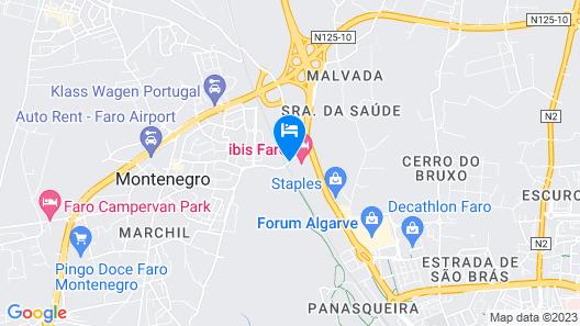 ibis Faro Algarve Map
