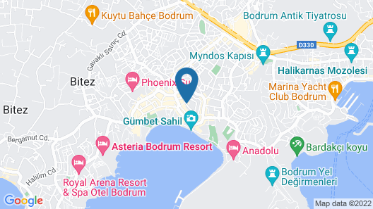 The Best Life Hotels Gumbet - All Inclusive Map