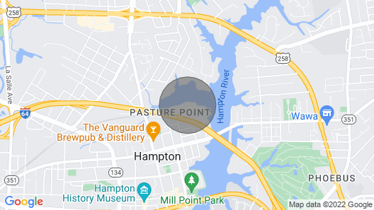 Hampton River Retreat Map