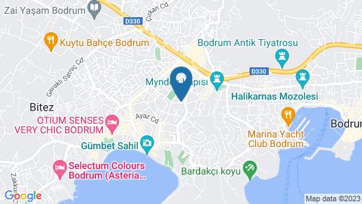 Tosunoglu Apart Otel Map