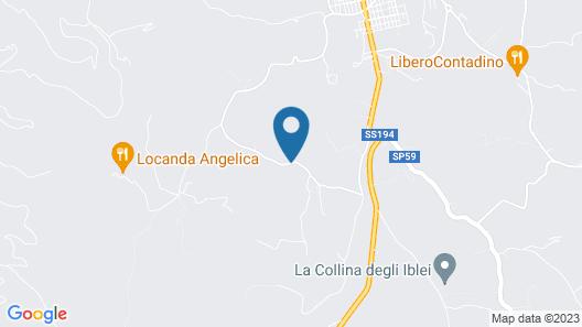 Villa Calaforno Map