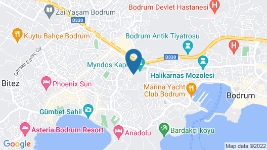 Historical Museum Resort - All İnclusive Map