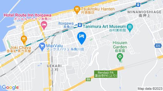 Yakeyama Spa Seifukan Map