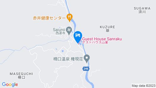 Guesthouse Sanraku Map