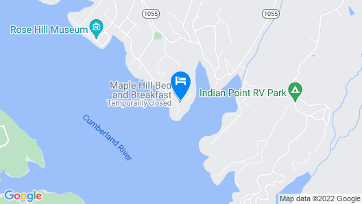 Maple Hill B&B Map