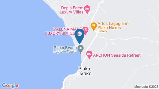 Ampelos Resort Hotel Map