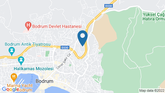 The Marmara Bodrum - Adult Only Map