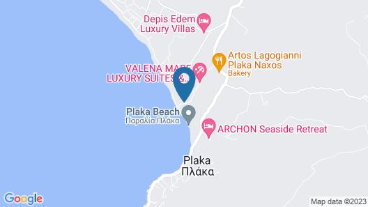 Medusa Beach Resort and Suites Map