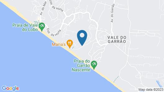 Dunas Douradas Beach Club Map