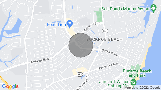 Bike to the Beach Bungalow Map
