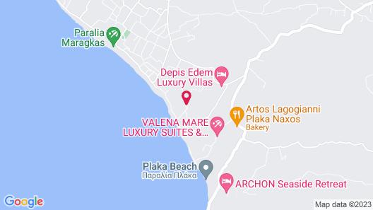 Naxos Island Escape Map