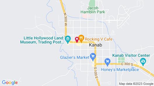 Kanab Suites  Map