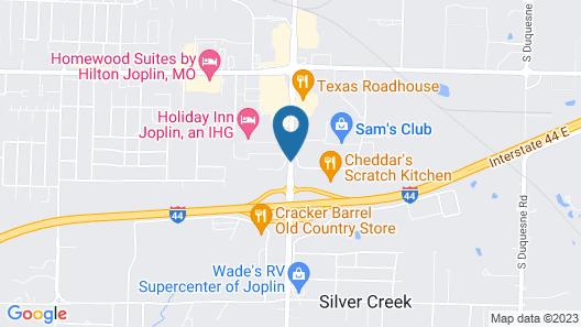 Residence Inn Marriott Joplin Map