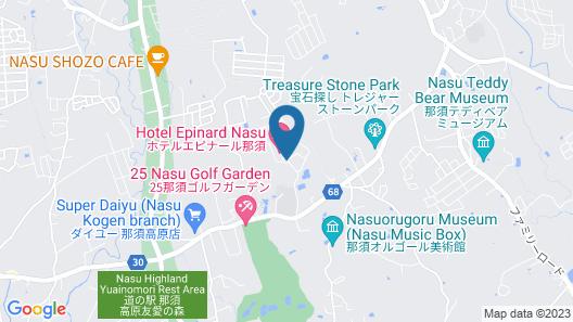 Hotel Epinard Nasu Map