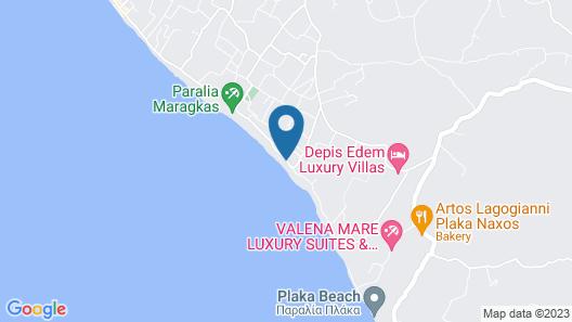 Plaza Beach Hotel Map