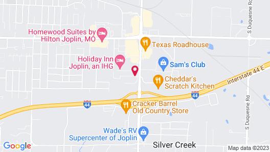 Best Western The Oasis at Joplin Map