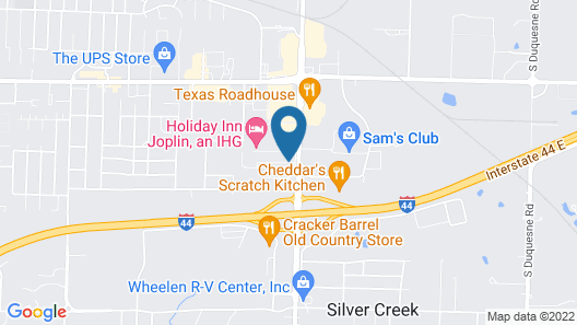 Best Western The Oasis at Joplin Map