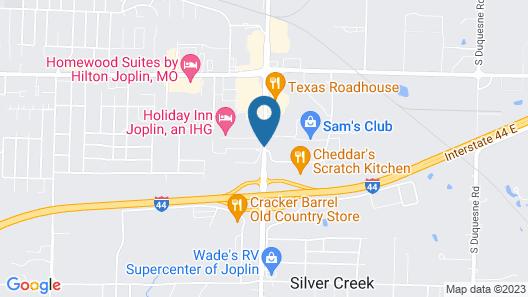 Super 8 by Wyndham Joplin Map