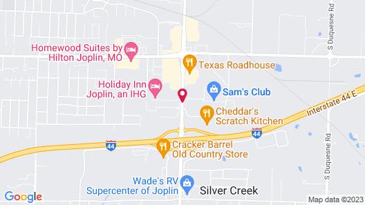 Drury Inn & Suites Joplin Map