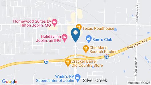 Candlewood Suites Joplin, an IHG Hotel Map