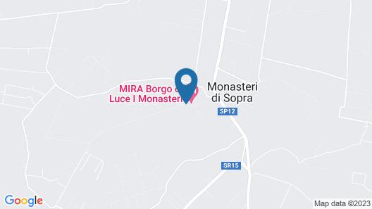 Borgo di Luce - I Monasteri Golf Resort & SPA Map