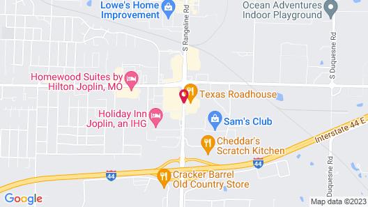 La Quinta Inn & Suites by Wyndham Joplin Map