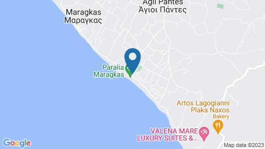 Plaka Camping Naxos Map