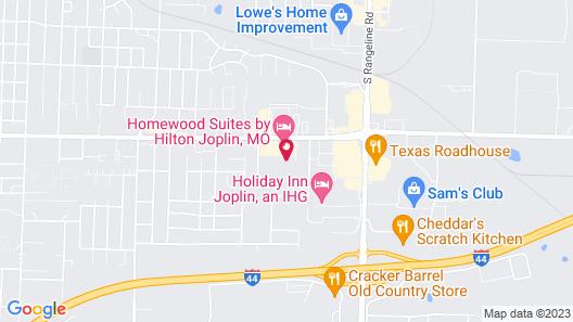Hilton Garden Inn Joplin Map