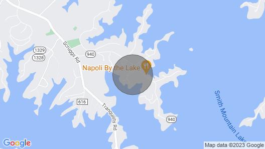 Bernard's Landing Getaway With Beautiful Lake Views And Many Greatamenities! Map