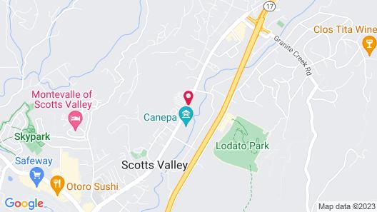 Four Points by Sheraton Santa Cruz Scotts Valley Map