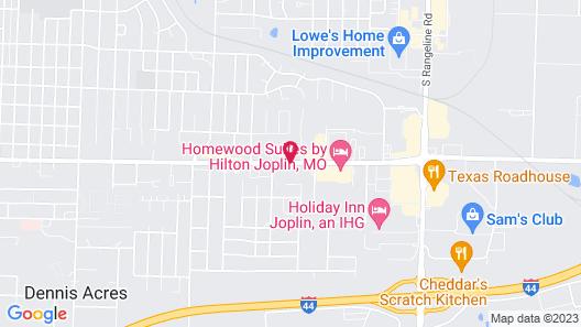 Homewood Suites by Hilton Joplin Map