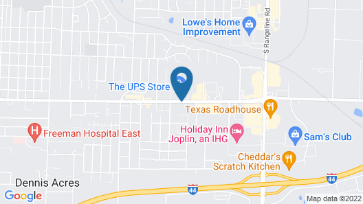 Homewood Suites by Hilton Joplin Map