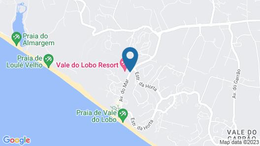 Vale do Lobo Resort Map