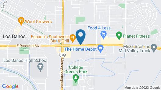 Maple Inn & Suites Map