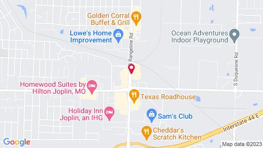 Motel 6 Joplin, MO Map