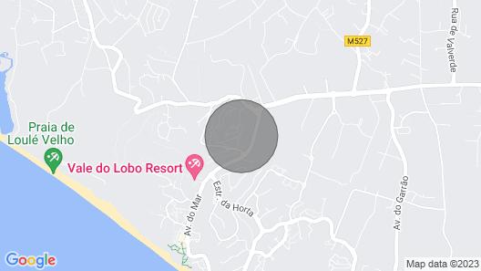 Villa Quadradinhos 38Q - Great 4BR Vale do Lobo Villa With AC, Private Pool Map