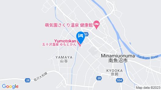 Ryokan Ikazawa Onsen Yumotokan Map