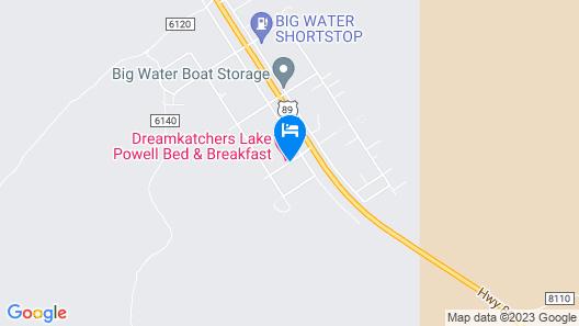 Dreamkatchers Lake Powell Bed & Breakfast Map