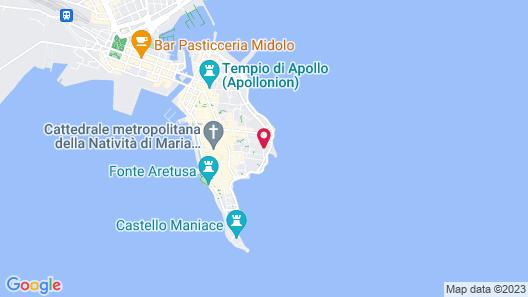 Lanterne Magiche Ortigia Map